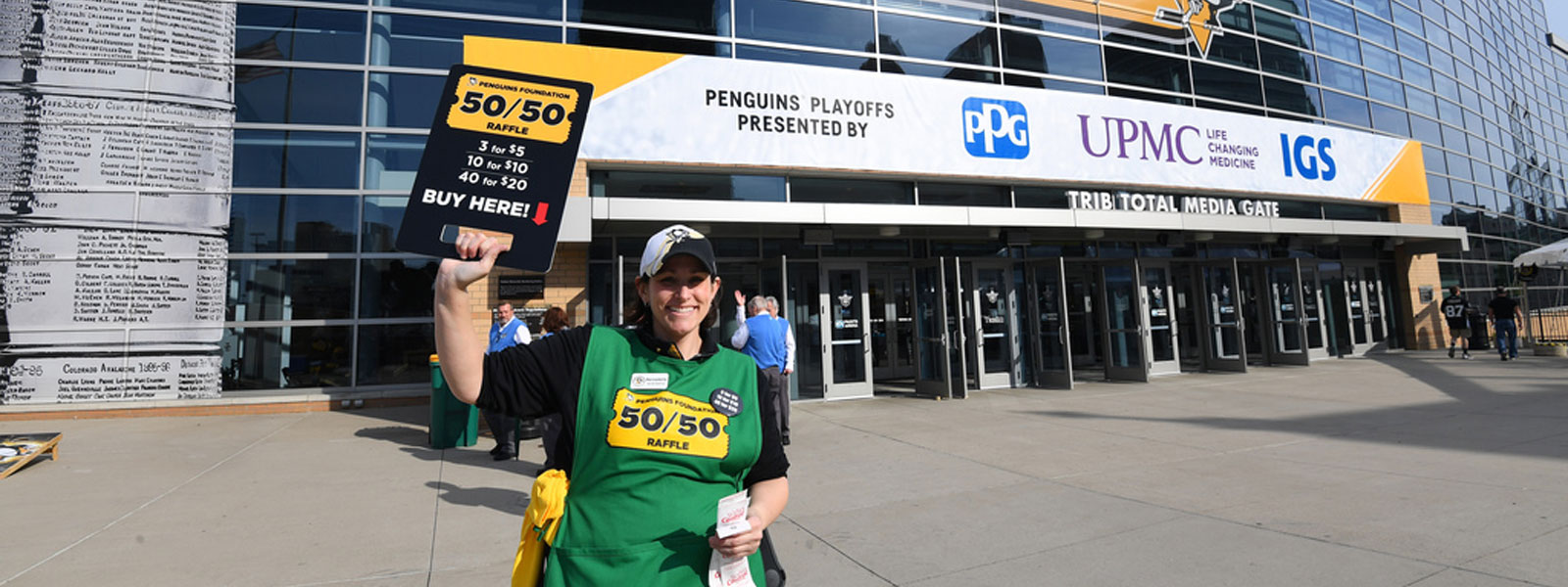 50/50 Raffle | Pittsburgh Penguins Foundation