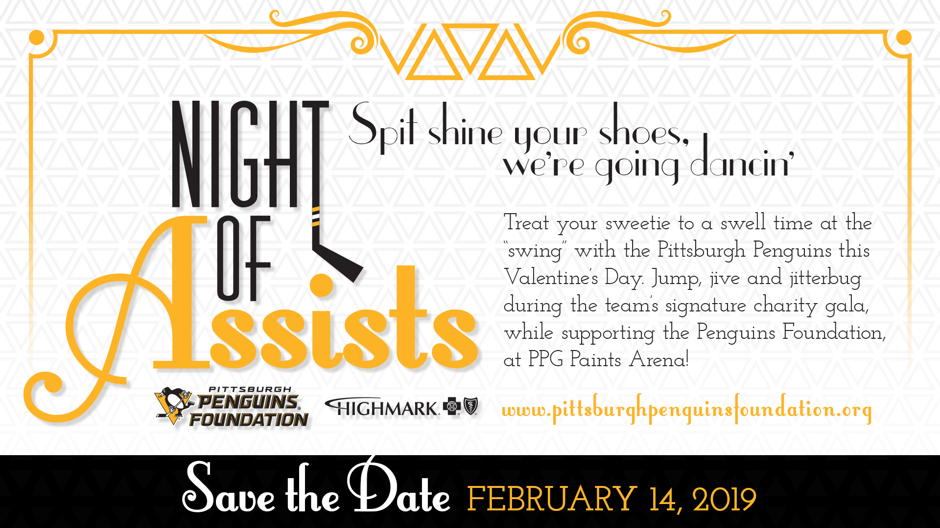 Night of Assists | Pittsburgh Penguins Foundation