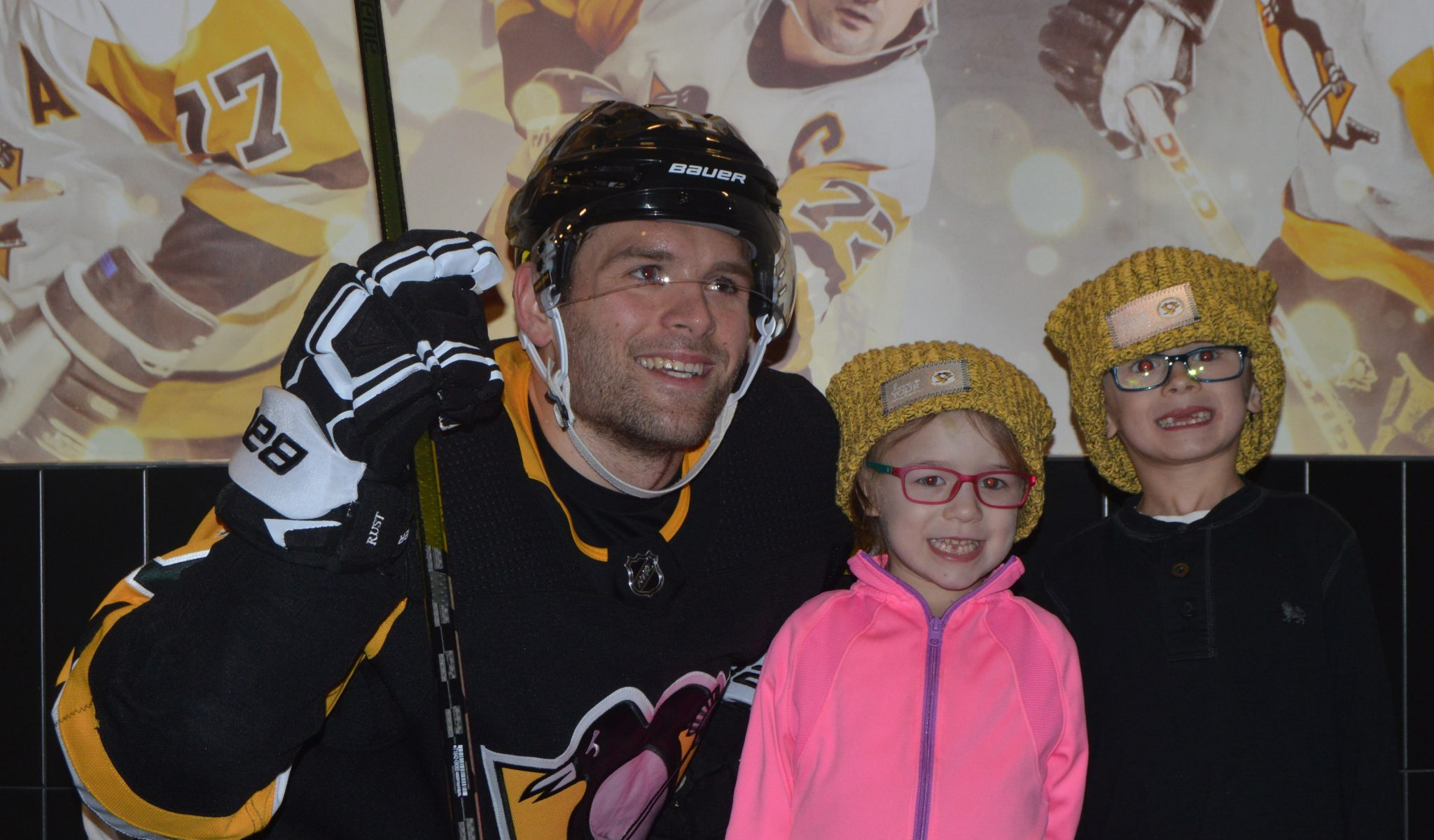 """4d3ab5a968d77 Pittsburgh Penguins Foundation Pledges Proceeds from """"Love Your Melon""""  Beanies to Ronald McDonald House of Pittsburgh and Morgantown"""